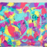 Painting-with-Plastic-Wrap-Kids-Art-Project