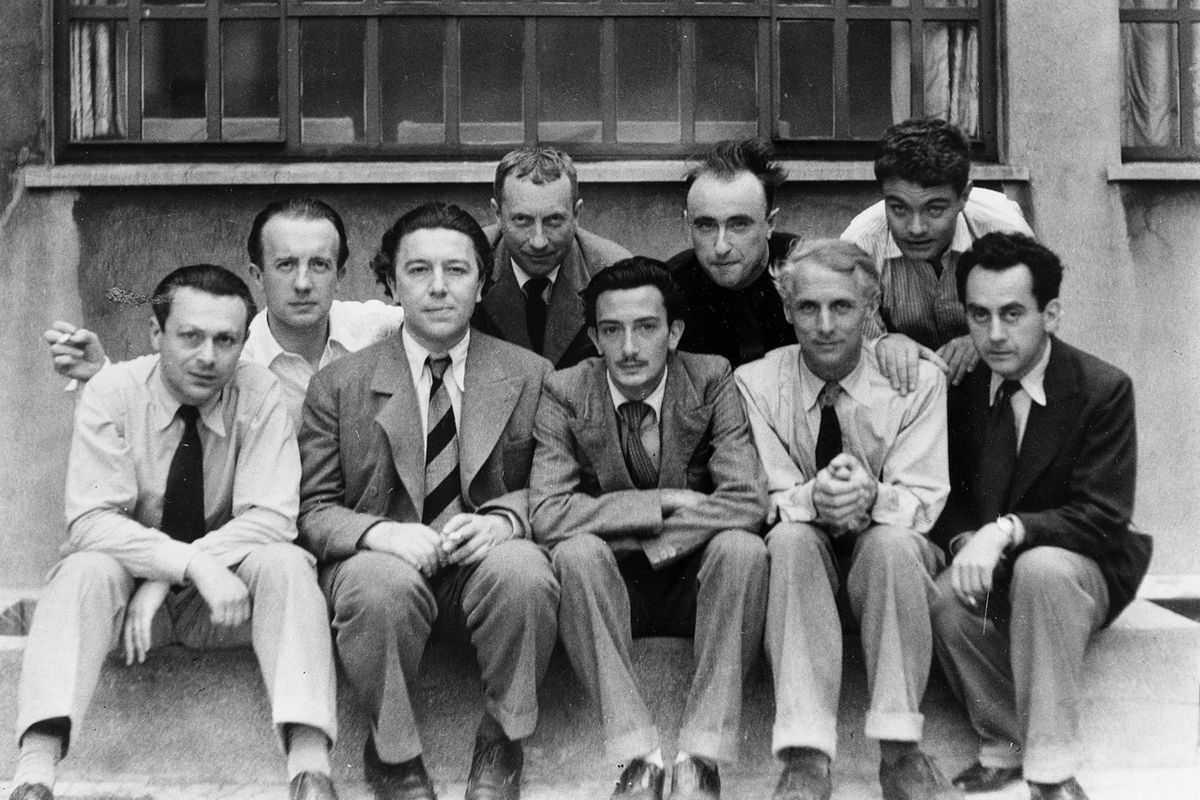 The-Paris-Surrealists-1933-via-Rustys-Artists