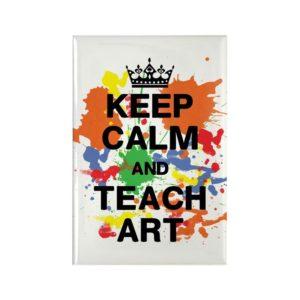keep_calm_teach_art_rectangle_magnet (1)